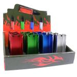 Defender 12PC Set Lighter Holder Open Folding Pocket Knife EDC Multi-Tool Belt Clip