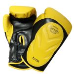 Black Pair Pro Boxing Gloves For Training Exersice Boxers