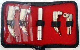 4 Blade EMT Laryngoscope Mac Set Anesthesia