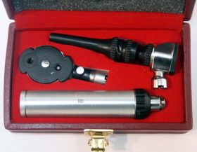 Bdeals Otoscope Dermatoscope Diagnostic Set Good Quality Gift Box