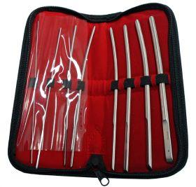 8 Pcs Hegar Dilators set Single Ended surgical instruments