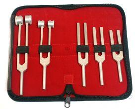 5 Pcs Tuning Forks Diagnostic Surgical Set