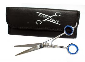 "Professional Hair Cutting Razor Edge 6.5"" Barber Scissors"