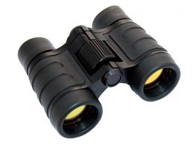 Perrini 4x30 High Powered PowerView Quick Focus Ruby Coated Binoculars