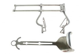 """Balfour Abdominal Retractor 10"""" SPREAD Veterinary Surgical BD Instruments"""