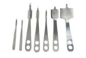 Hohmann Retractor set of 7 Pieces - Orthopedic, Medical, Surgical Instruments
