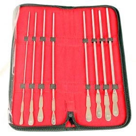 BDeals 8 Pieces Kit of  Dittle Urethral Sounds # 08 to # 22 FR GYN