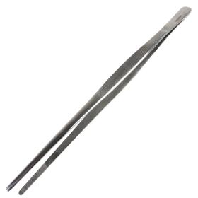 "Bdeals 10"" General Purpose Thumb Dressing Forceps Tweezers Stainless Steel"