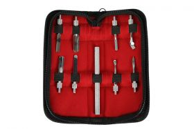 """4"""" Stainless Steel 9 Pc. Pusher Set"""