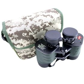 Perrini 20x40 Black & Green Water Proof Binocular With Camo Carrying Case