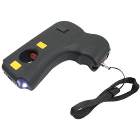 Defender Hand 10 Mil Stun Gun LED Light & Safety Switch