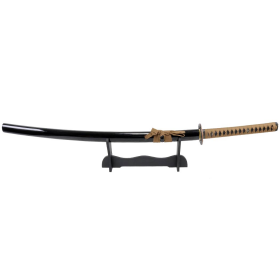 "Defender-Xtreme 41"" Samurai Katana Sword Collectible Handmade Ito Sageo Brown"