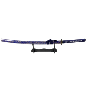 "Defender-Xtreme 41"" Samurai Katana Sword Collectible Handmade Swords Blue & Gold"