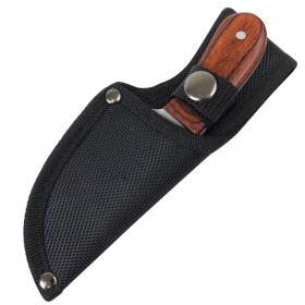 "TheBoneEdge 6"" Skinner Knife Wood Handle Stainless Steel Hunting Knives Full Tang"