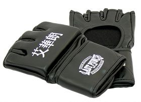Black Grappling MMA Training Gloves UFC Style Gloves