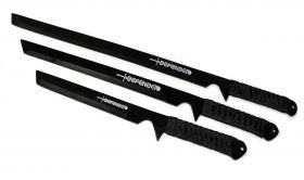 3 Sword Set Carbon Steel Swords