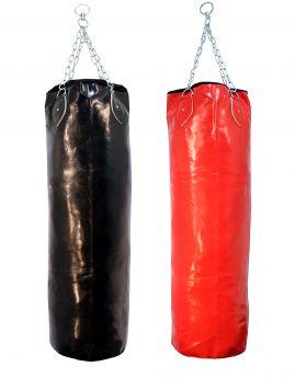 Black or Red Vinyl leather Bag unfilled