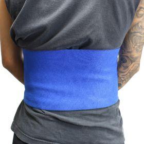 """Perrini 10"""" Blue Waist Slimmer Back Support Belt Tummy Belt Exercise Gym"""