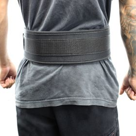 "Last Punch® 4"" Nylon Power Weight Lifting Belt / Back Support Belt Black"