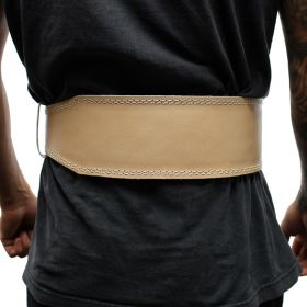 """Last Punch 4"""" New Leather Weight Lifting Body Building Belt Gym Fitness all Sizes"""