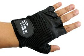 Leather Gloves Black Color