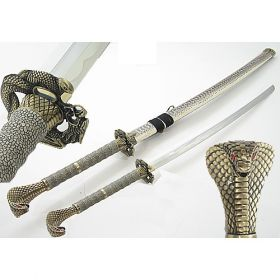 "43"" Cobra Snake Head  Samurai Sword"