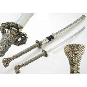 "43"" Cobra Snake Head  Samurai Sword"