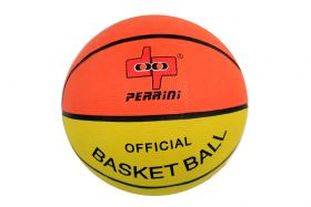 Perrini Unisex Indoor Outdoor Sports Game Performer Multi Color Basket Ball Size 7