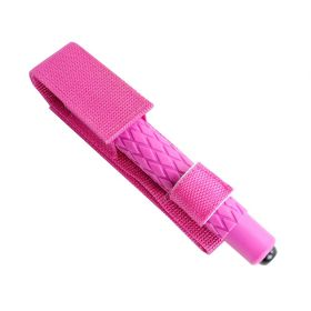 "19.5"" Pink Metal Baton with Carrying Sheath"