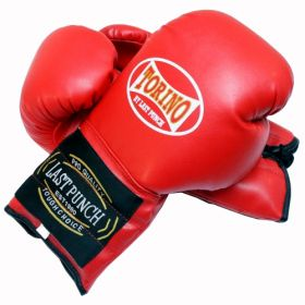 14oz Red Torino Boxing Gloves Heavy Duty
