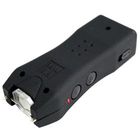 5 Million Volt Flashlight LED Black Stun Gun Safety Switch