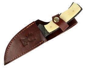 """8"""" Damascus Skinner Knife Bone Handle Series"""