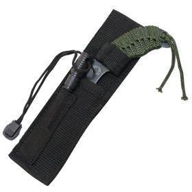 "7""  Hunting Knife Black Tactical Carbon Steel Blade"