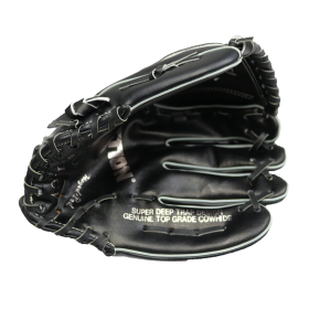 Baseball Glove Pitcher Cowhide Leather Small Catcher Top Grain Baseball Glove BK