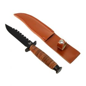 "9"" Hunting Knife Heavy Duty With Sheath"