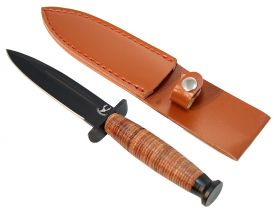 "9"" New Hunting Knife Heavy Duty with Sheath Included"