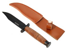 "9"" Hunting Knife Heavy Duty with Sheath Good Quality"
