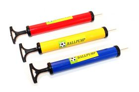"12"" Mixed Color (Red, Blue, Yellow) Ball Pump With Needle  for All Kind of Balls"