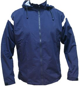 Micro Fabric Warm up Sports Full Zip with Hood Track Top Upper Royal