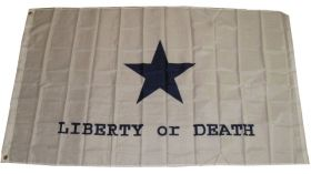 3x5 Super Polyester Goliad Battle Liberty or Death Flag