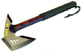 "16.5"" Hunt-Down Tactical Axe Stainless Steel Blade"