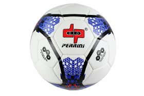 Perrini Match Soccer Ball Tacno Material Training Football Black Blue Size 5