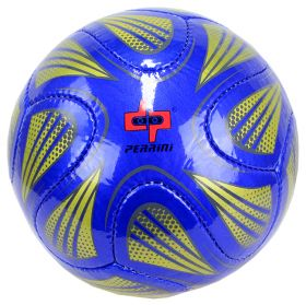 Perrini Match Ball Soccer Green Blue Football Practice Training Official Size 5