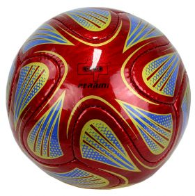 Perrini Match Ball Soccer Red Green Blue Football Training Official Size 5