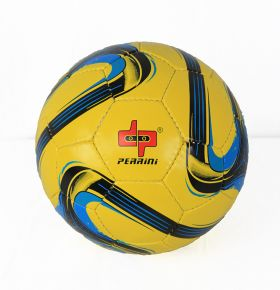 Perrini Match Ball Soccer Yellow Blue Black Football Training Official Size 5