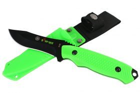 "8"" Defender Xtreme Hunting Knife with Sheath Green"
