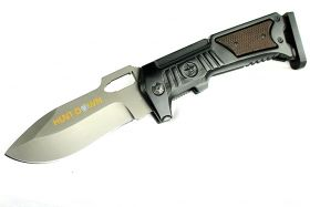 "10.5"" Hunt-Down Folding Knife with Stainless Steel Blade"