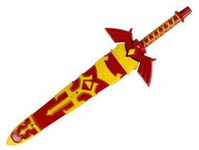 """Defender 11.5"""" Fantasy Stainless Steel Red Dagger"""