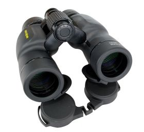 10X36 Huntdown Black Waterproof Binoculars with Nylon Carrying Case