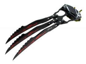 "10"" Zomb War Fantasy Hunting Claw Knife with Nylon Sheath"
